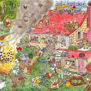 puzzle maison humour puzzle 1000 pi ces. Black Bedroom Furniture Sets. Home Design Ideas
